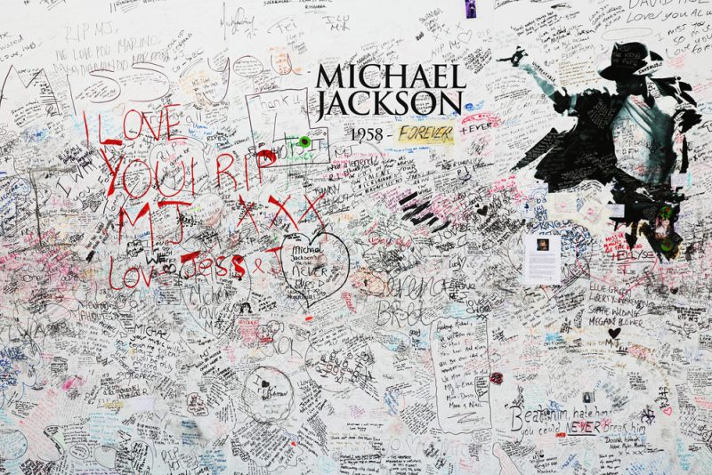 Memorial for Michael jackson at the O2 arena on July 24, 2009 in London_67153027