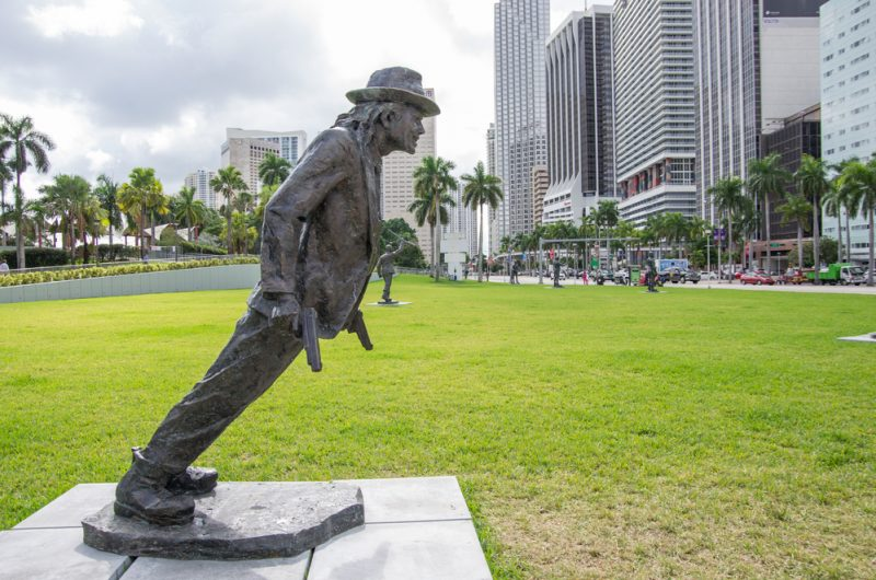 Michael Jackson statue in Miami_248671360