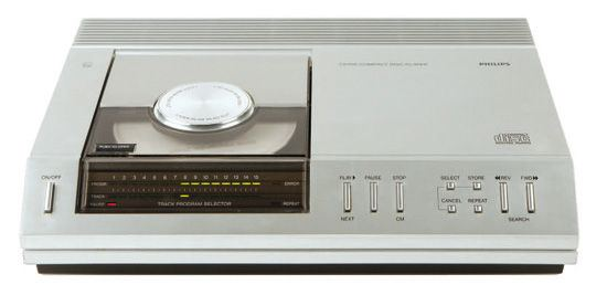 Philips CD100 din 1974