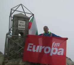 Europa FM, pe cel mai înalt vârf montan din Peninsula Balcanică