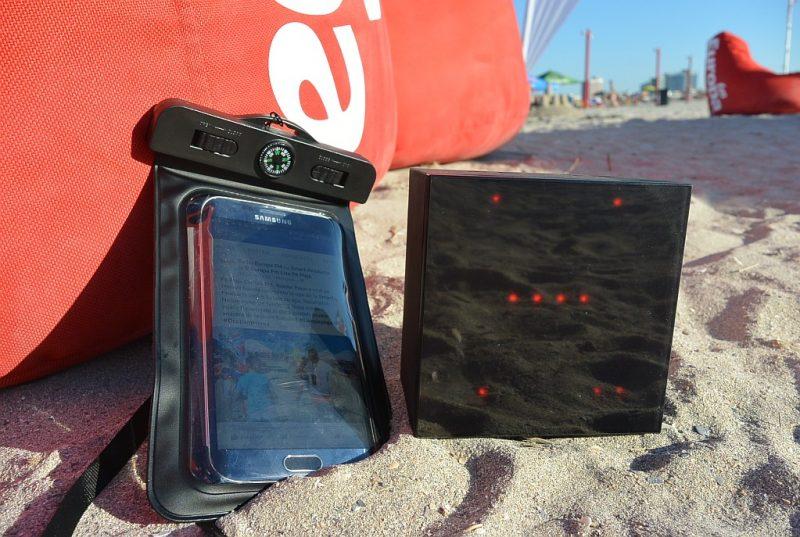 aurabox in soare pe plaja Europa FM