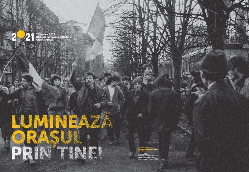 banner Timisoara candideaza pentru titlul de Capitala Europeana a Culturii in 2021