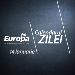 Calendarul zilei de 14 ianuarie