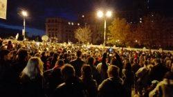 București: 3.000 de protestatari au blocat Calea 13 Septembrie pe ambele sensuri de mers