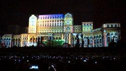 Show de proiecții în această seară pe Palatul Parlamentului