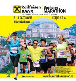 Înscrie-te cu Europa FM la cursele Maratonului București Raiffeisen Bank