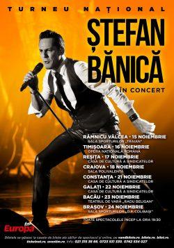 Ștefan Bănică pregătește o toamnă rock'n'roll. Artistul porneşte în noiembrie într-un turneu naţional
