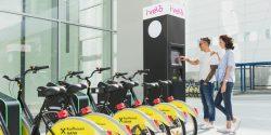 Primele stații de închiriat biciclete cu cardul, inaugurate în București