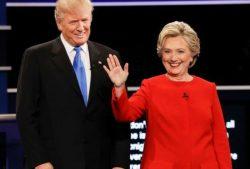 SUA: Record de audiență pentru dezbaterea Clinton – Trump