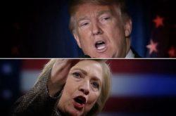 Clinton are un avans de 12 procente în faţa lui Trump, potrivit unui nou sondaj