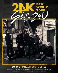 24K va susține în premiera un concert în România