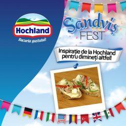 Sandviș Fest: Inspiraţie de la Hochland pentru dimineţi altfel!