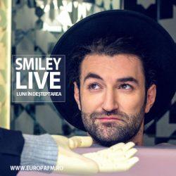Smiley cântă, luni, live în Deşteptarea