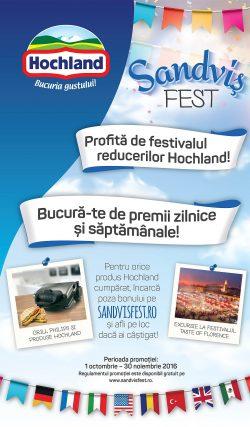 Sandviș Fest te poate duce la Florența  (P)