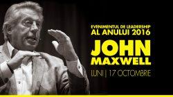 Evenimentul cu John C. Maxwell este sold out! S-a creat deja o listă lungă de așteptare