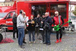 Surpriză la farfurie de la părinții lui Călin Goia pentru matinalii Europa FM