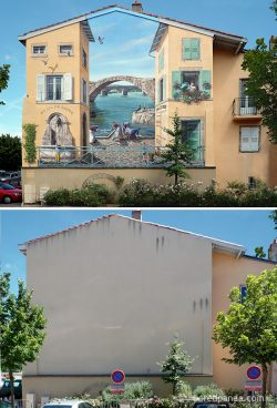 Clădiri transformate radical prin artă stradală – GALERIE FOTO