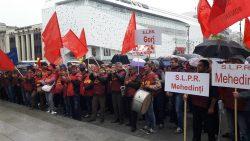Dolj: Aproximativ 300 de poștași au protestat în Craiova