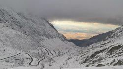 Zăpadă și frig la munte