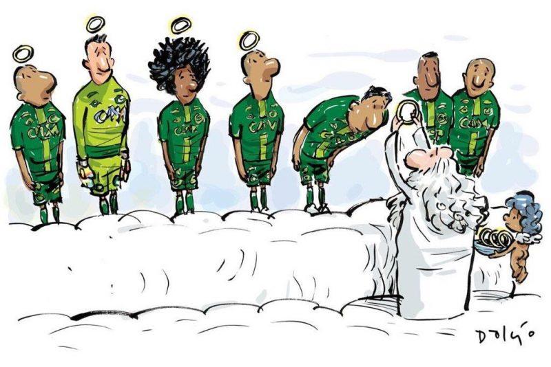 caricatura-emotionanta-cu-echipa-associacao-chapecoense-de-futebol