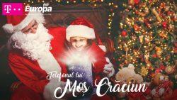 La Europa FM sună Telefonul lui Moș Crăciun! Înscrie copilul acum!