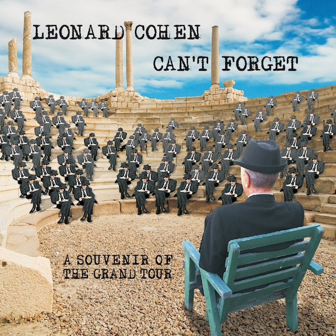 Leonard Cohen releases Can't Forget: A Souvenir of the Grand Tour on May 12, 2015. (PRNewsFoto/Legacy Recordings)