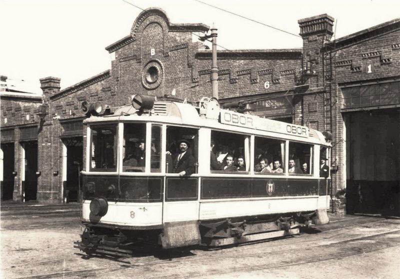 tramvai-electric-pe-linia-gara-de-nord-obor