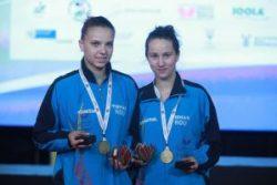 Drum cu Prioritate pentru tinerii sportivi: campioanele mondiale la tenis de masă, juniori, Adina Diaconu si Andreea Dragoman