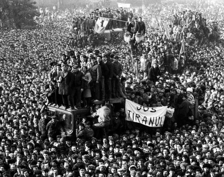 Romanian Revolution in pictures, 1989 3