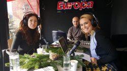 La Radio cu Andreea Esca si Venera Arapu, live de la Târgul Crazy Christmas – VIDEO