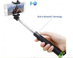 Câștigă un selfie stick cu bluetooth