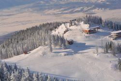 Care este stratul de zăpadă în Poiana Brașov – Masivul Postăvarul sâmbătă, 11 februarie 2017