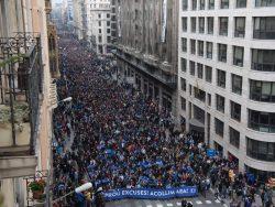 Protest de amploare în Spania pentru a susține refugiații