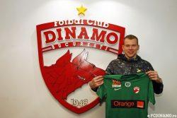 Portarul Vytautas Cerniauskas revine la Dinamo