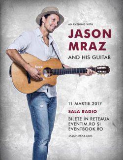 Jason Mraz concertează pentru prima dată în România, pe 11 martie