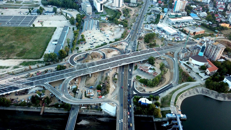 De azi se va circula pe Podul Ciurel – Nod Virtuții ...  |Podul Ciurel