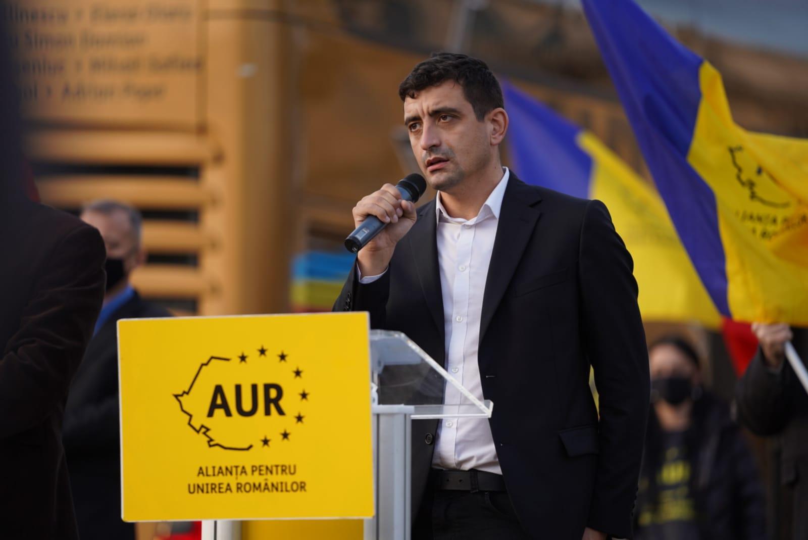 """George Simion: """"Voi dona 90% din salariul meu către o cauză civică, către  cazuri speciale, lună de lună"""" : Europa FM"""